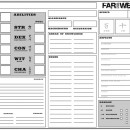 The Far West Character Sheet