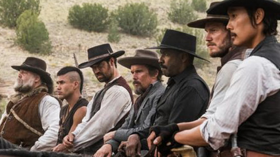 Far West Inspirography: The Magnificent Seven